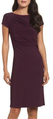 Women's Eliza J Twist Waist Sheath Dress $118 thestylecure.com