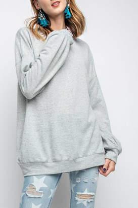 Easel Rickie Pullover Sweatshirt