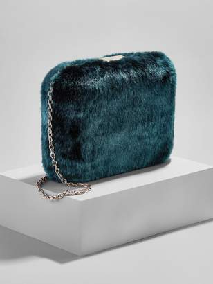 BaubleBar Faux Fur Crossbody Bag