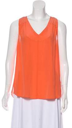 Rebecca Taylor Embellished Sleeveless Top w/ Tags