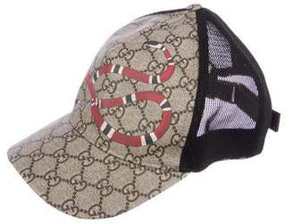 6e0745b2582e03 Gucci Canvas Baseball Hat - ShopStyle