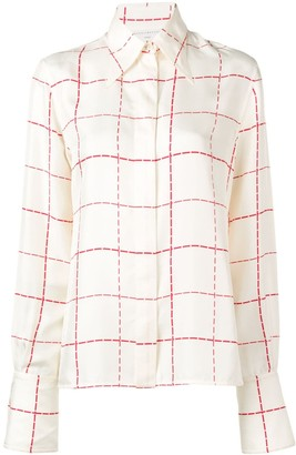 Victoria Beckham point collar shirt