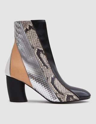 Proenza Schouler Curved Heel Leather Boot