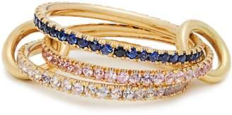 SPINELLI KILCOLLIN Aurora sapphire, tanzanite & yellow-gold ring
