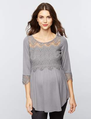 A Pea in the Pod Babydoll Maternity Top