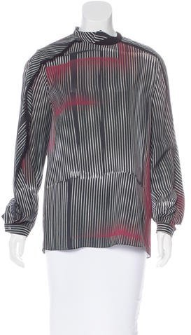 3.1 Phillip Lim 3.1 Phillip Lim Silk Striped Top w/ Tags