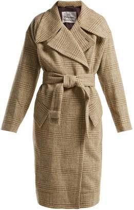 Vivienne Westwood Wilma belt-fastening wool coat
