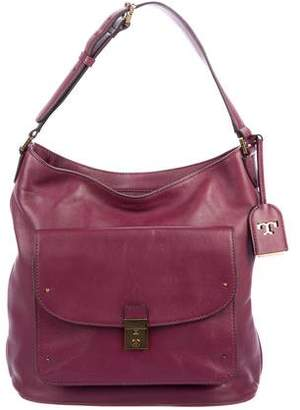 Tory Burch Grained Leather Hobo