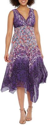 Rabbit Rabbit Rabbit DESIGN Design Sleeveless Abstract Fit & Flare Dress