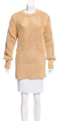 Reed Krakoff Long Sleeve Crew Neck Sweater
