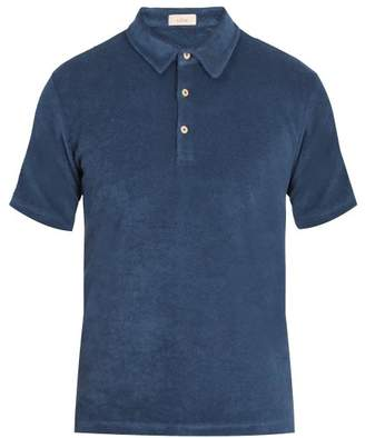 Altea French terry-towelling polo shirt