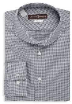 Hickey Freeman Cotton Classic-Fit Dress Shirt