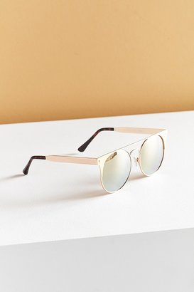 Quay The In Crowd Round Sunglasses $60 thestylecure.com