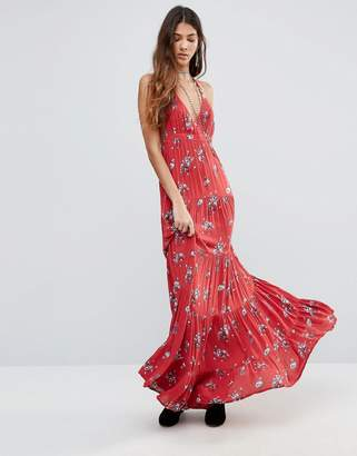Raga The Sangria Razor Back Maxi Dress