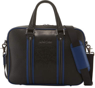 Robert Graham Men's Eterio Faux-Leather Briefcase