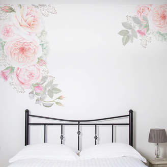 Nutmeg Wall Stickers Pastel Floral Wall Sticker Set