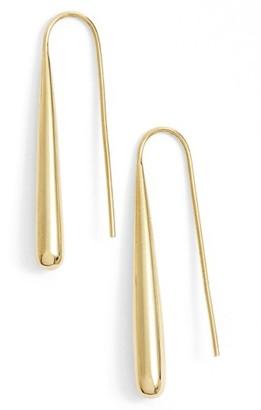 Women's Soko Teardrop Threader Earrings $54 thestylecure.com