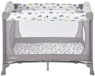 Ladybird Travel Cot - Clouds