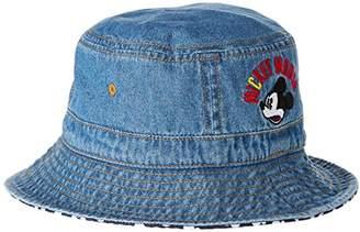 Disney (ディズニー) - [ディズニー] ディズニーミッキー&ミニーデニムハット 333101227 キッズ ブルー 日本 50 (FREE サイズ)