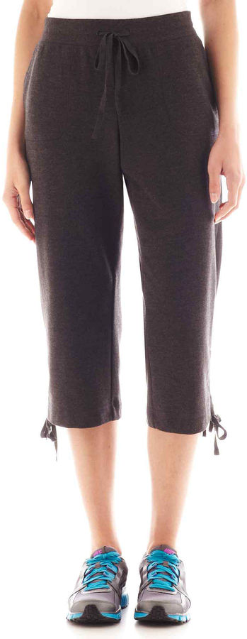 Made For Life Silverwear French Terry Knit Capris - Tall