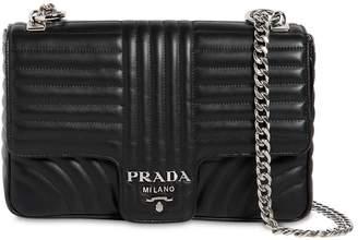Prada Medium Quilted Leather Shoulder Bag