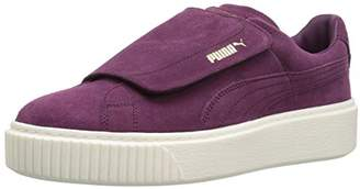 Puma Women's Suede Platform Strap Wn Sneaker