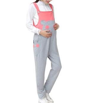 02ed63eb34cf6 zhxinashu Maternity Suspender Jumpsuit Bib Pants - Dungarees Bottoms (,XL)