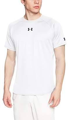 Under Armour (アンダー アーマー) - [アンダーアーマー] バスケットボール/Tシャツ ロングショットTシャツ 1316918 メンズ WHT 日本 XL (日本サイズXL相当)