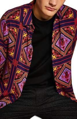 Topman Tile Classic Fit Shirt