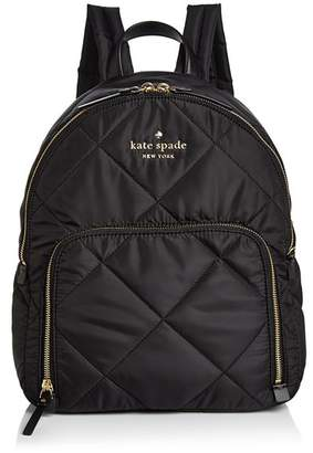 Kate Spade Watson Lane Hartley Medium Quilted Nylon Backpack