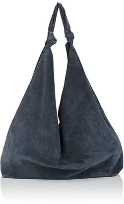 The Row Women's Bindle Double-Knot Suede Shoulder Bag