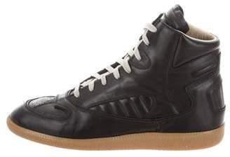 Maison Margiela Round-Toe High-Top Sneakers