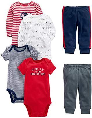 Carter's Simple Joys by Baby Boys 6-Piece Little Character Set