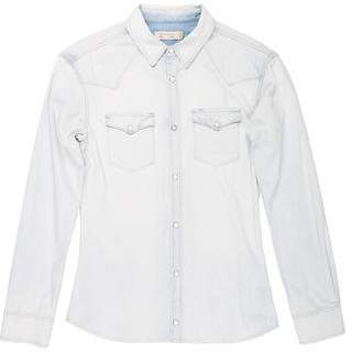 AllSaints Denim Button-Up Shirt