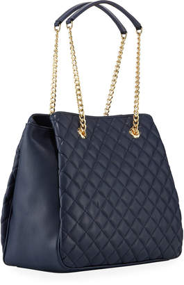 Love Moschino Quilted Accordion Shoulder Bag