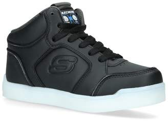 Skechers Leather Hi-Top Sneakers