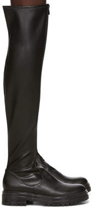 Gianvito Rossi Black Marsden Over-The-Knee Boots
