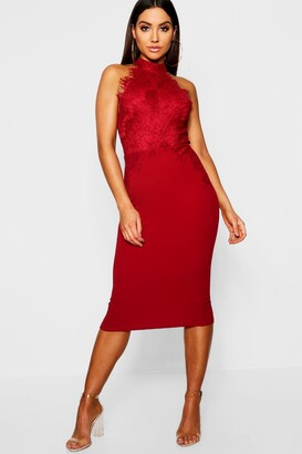 6f575e34de2 boohoo Lace Midi Dresses - ShopStyle