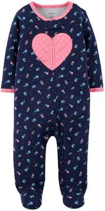 Carter's Baby Girl Heart & Floral Sleep & Play