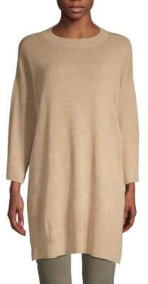 Eileen Fisher Long-Sleeve Merino Wool Tunic
