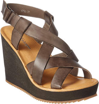 Antelope 729 Leather Wedge Sandal