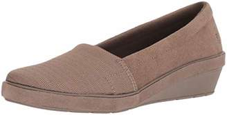 Grasshoppers Women's Chase Wedge Suede Loafer