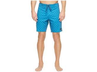 United By Blue Longbow Scallop Boardshorts Men's Swimwear