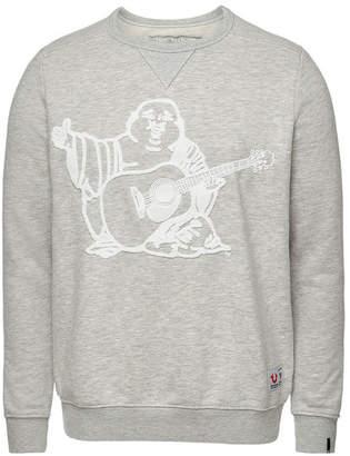 True Religion Buddha Cotton Sweatshirt