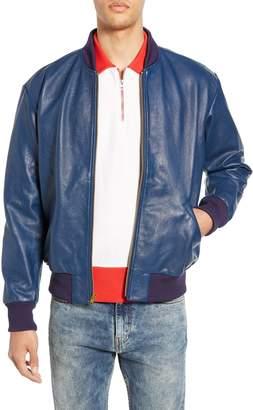 Levi's Climate Leather Bomber Jacket