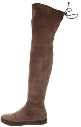 83acfa7b0bb Stuart Weitzman Brown Over The Knee Women s Boots - ShopStyle
