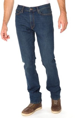 Fort Knox Men's Straight Fit Jeans with Stretch