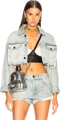 Alexander Wang Blaze Crop Jacket