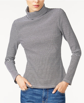 Tommy Hilfiger Striped Turtleneck, Only at Macy's $59.50 thestylecure.com