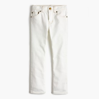 Boys' white jean in stretch skinny fit $59.50 thestylecure.com